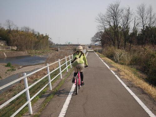 井野川サイクリングロード